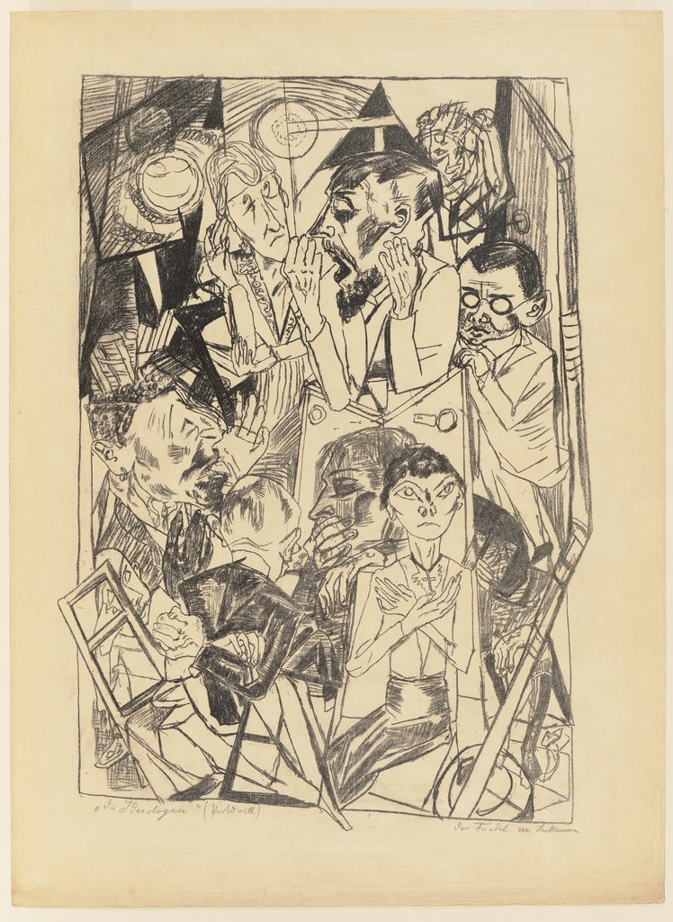 The Ideologists, Max Beckmann