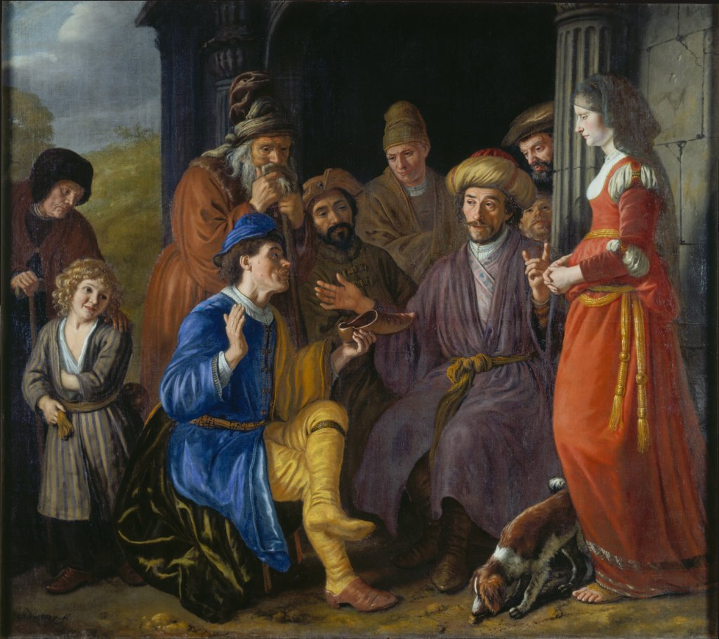 Boaz assumes the Legacy of Elimelech, Jan Victors