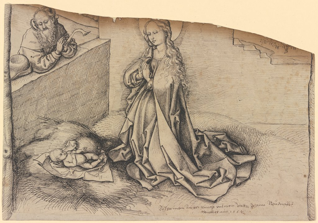 The Nativity, Martin Schongauer  succession