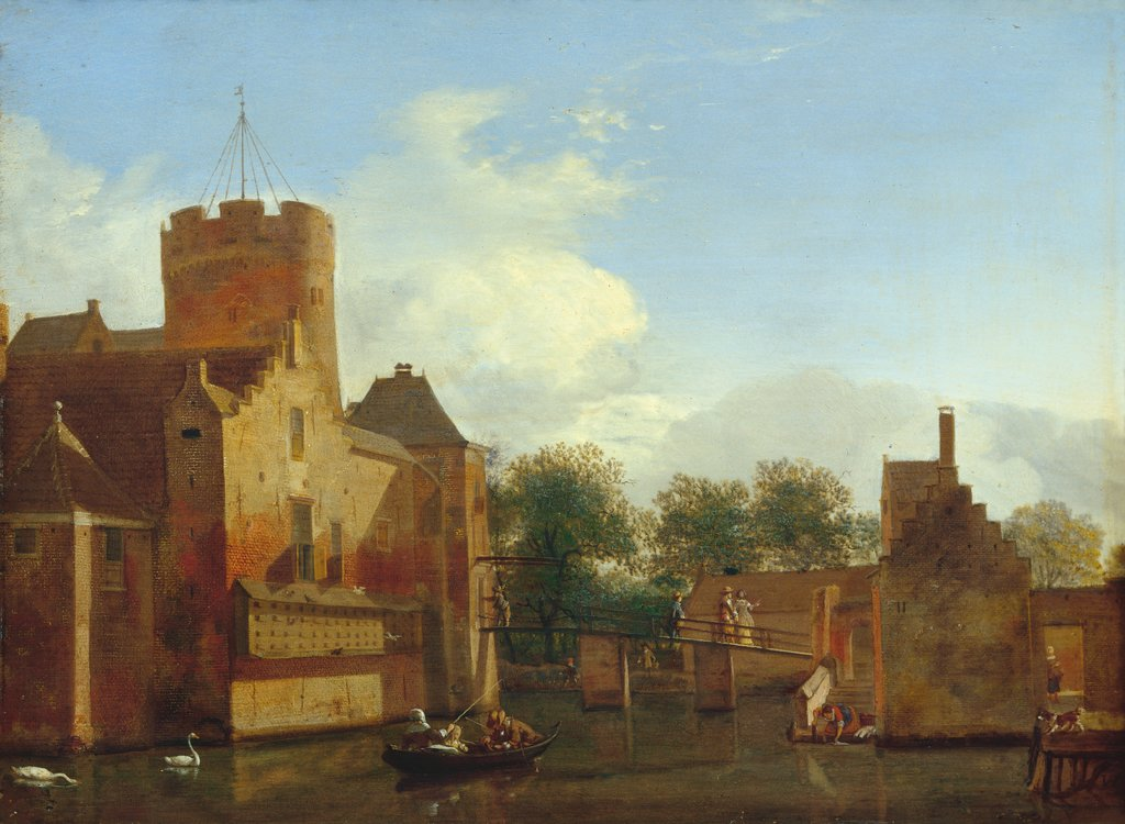 Schloss Loenersloot in Holland, Jan van der Heyden