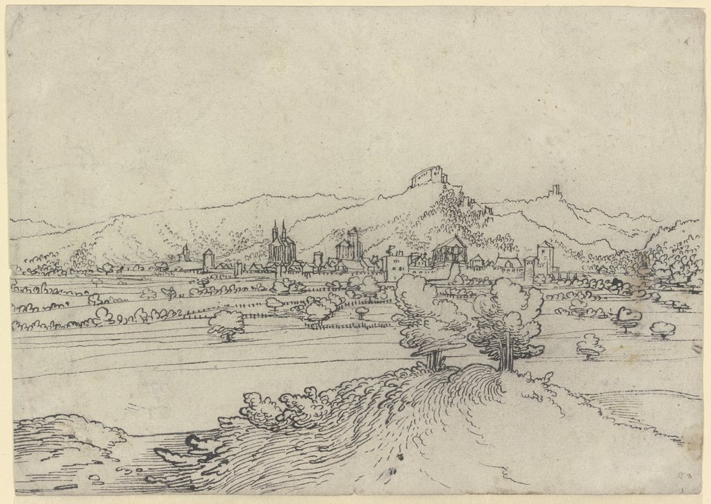 View of Passau (?), Wolf Huber  workshop