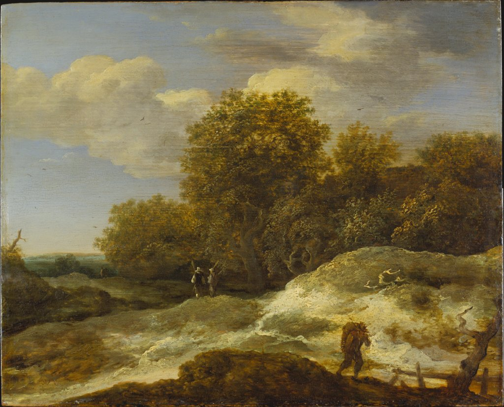 Landscape with Sandy Path, Willem Gras