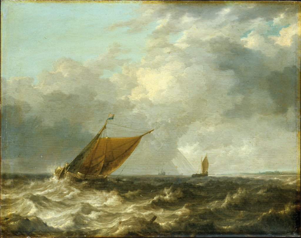 Stormy Sea, Julius Porcellis   ?
