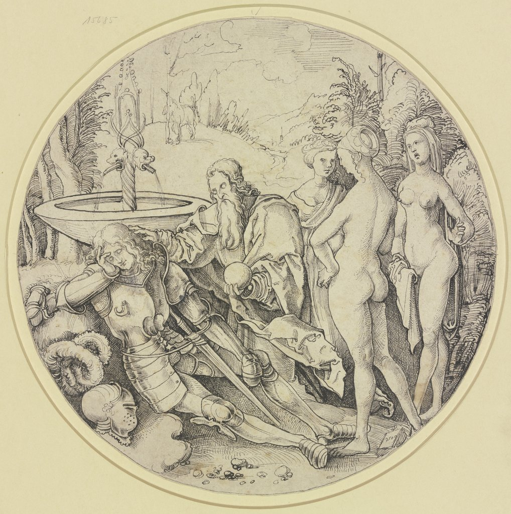 Paris' dream, southern German, 16th century