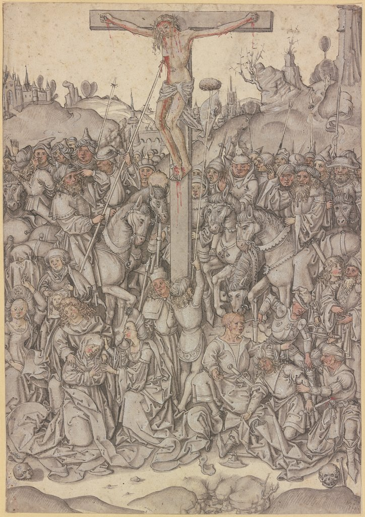 Crucifixion of Christ, Austrian, 15th century
