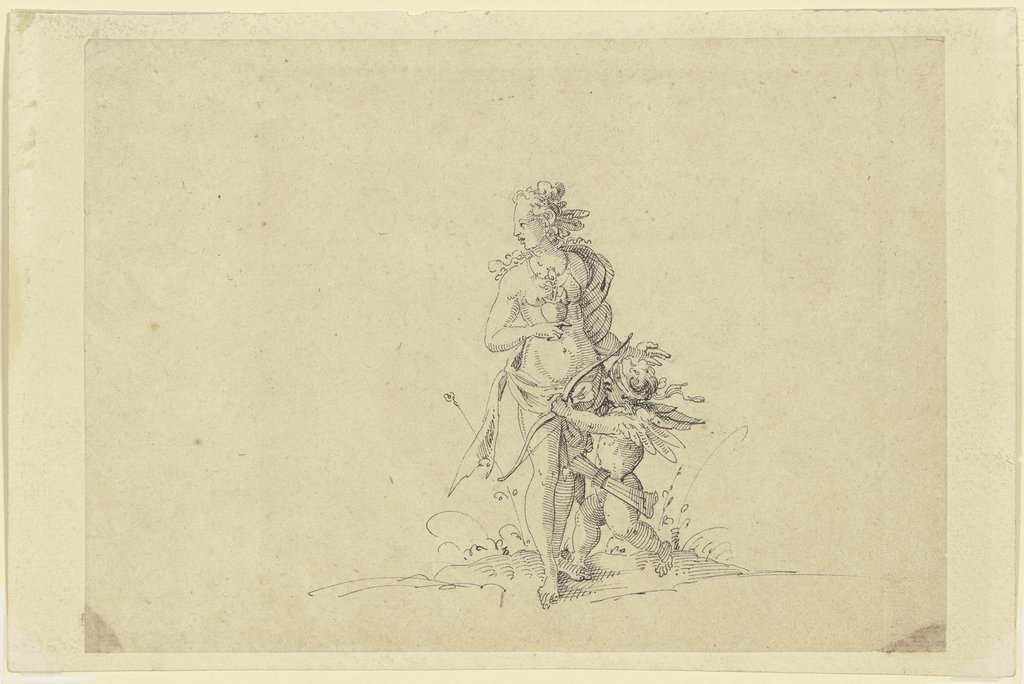 Venus and Cupid, Jost Amman  Umkreis