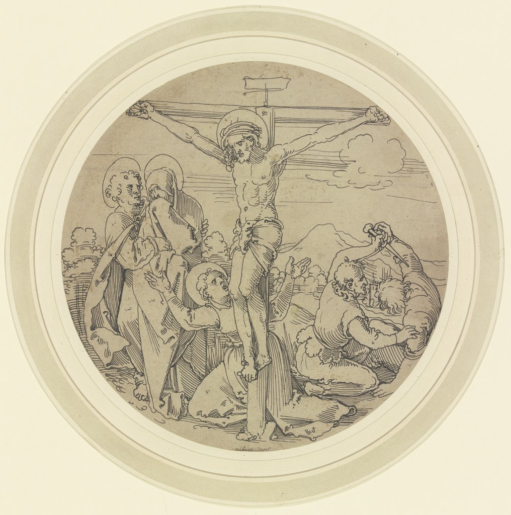Crucifixion of Christ, Sebald Beham