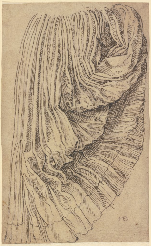 Pleated skirt, Hans Brosamer