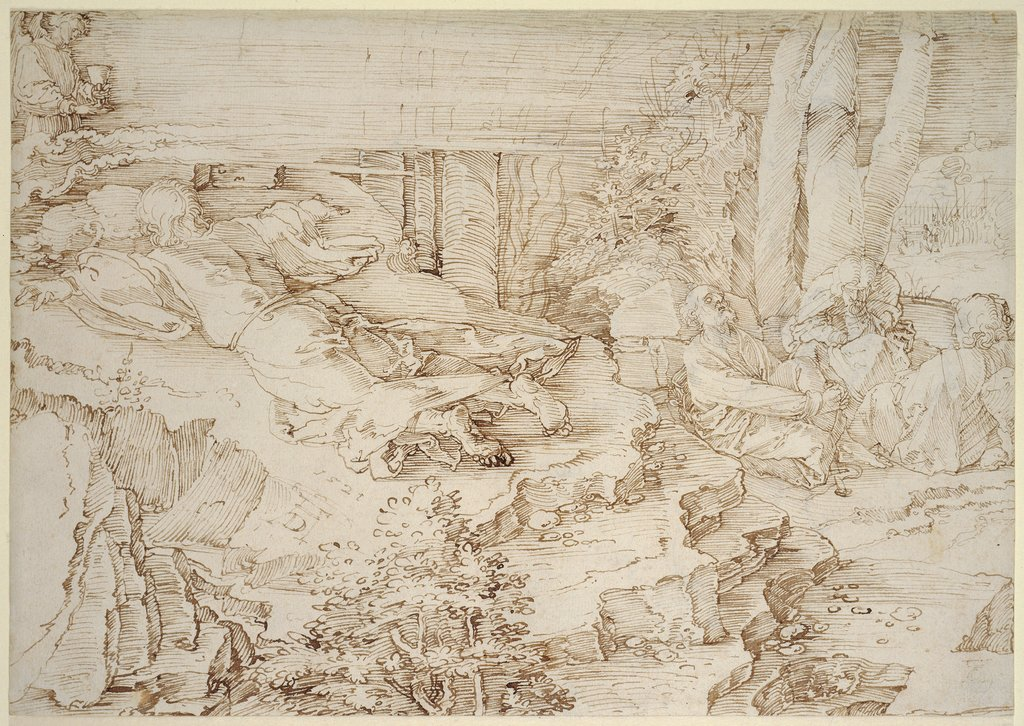 Agony in the Garden, Albrecht Dürer