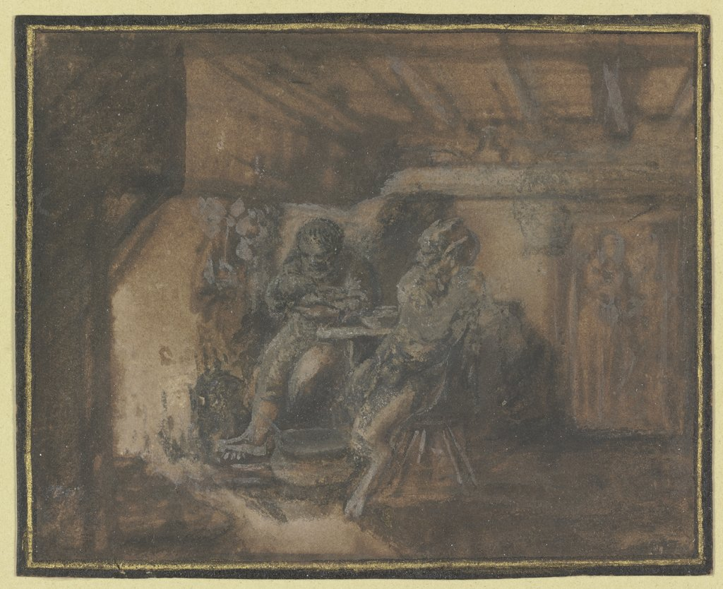 The satyr at the farmer's, Unknown, 17th century