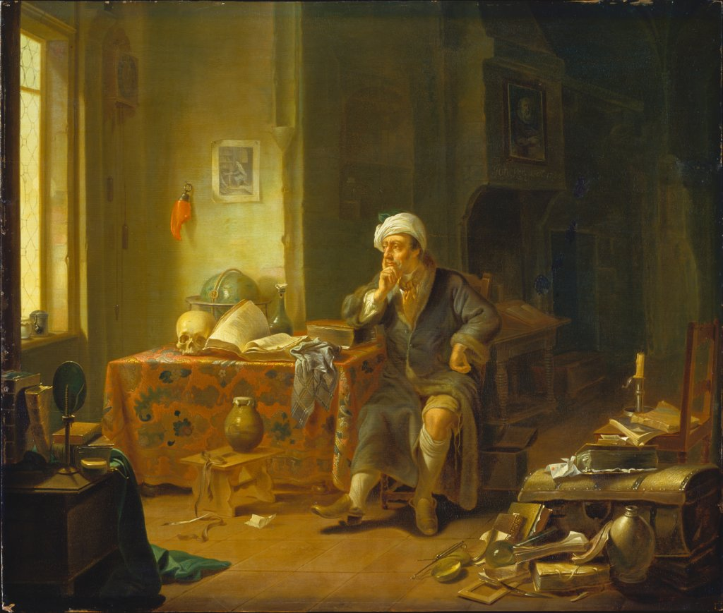 A Scholar in his Study, Justus Juncker
