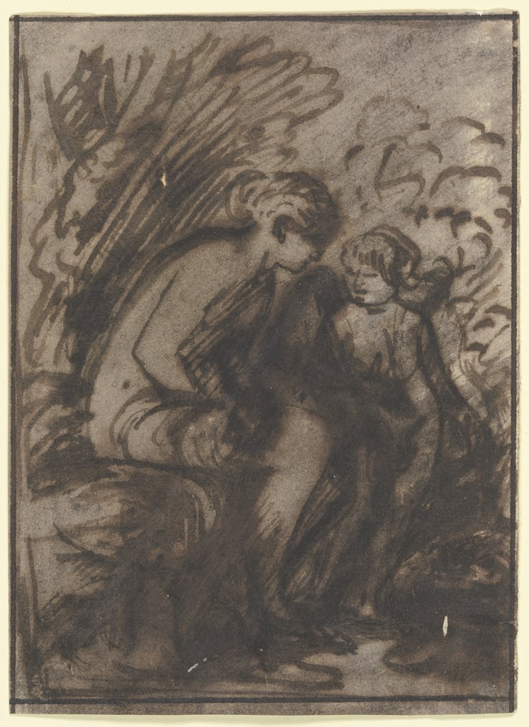 Venus and Cupid, Hendrik Goudt