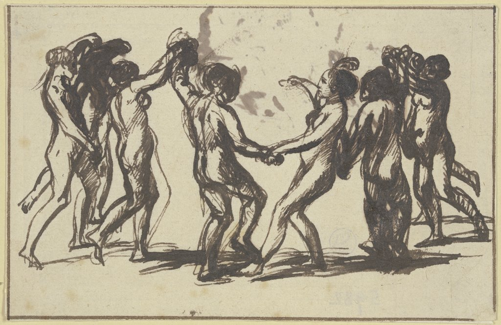 Dance of the nymphs, Hendrik Goudt