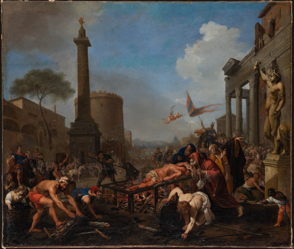 The Martyrdom of Saint Lawrence, Bartholomeus Breenbergh