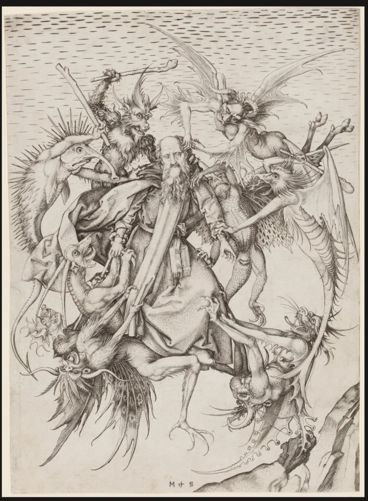 The Tribulations of St Anthony, Martin Schongauer