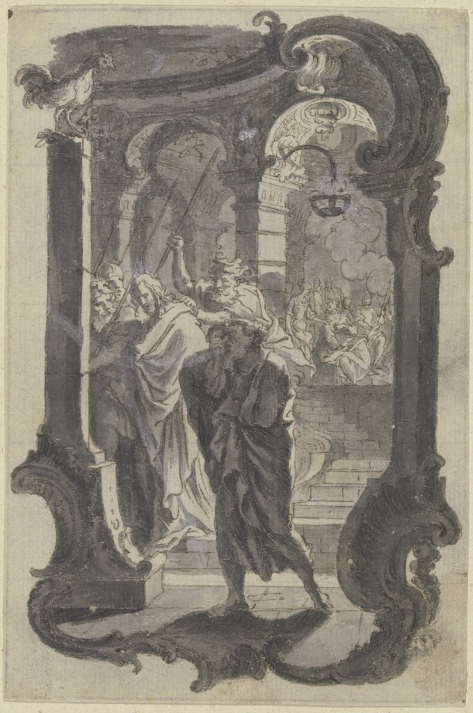 Denial of Peter, Gottfried Bernhard Götz