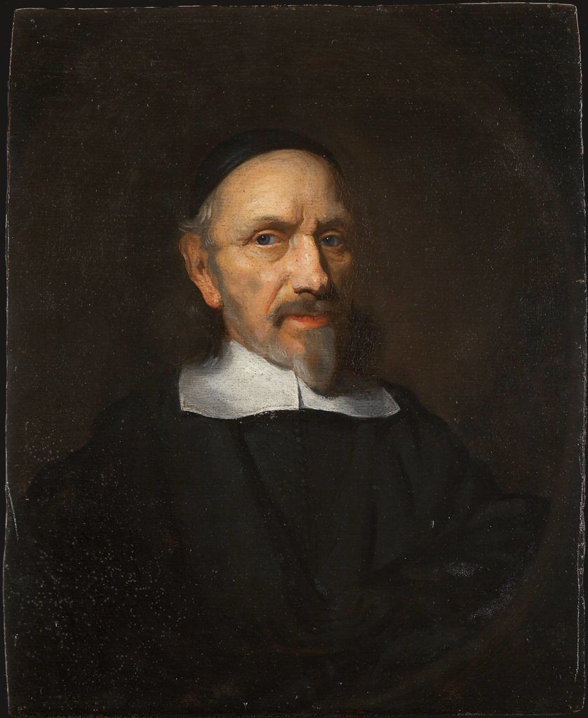 Portrait of a Man Dressed in Black, copy after Nicolaes Maes   ?