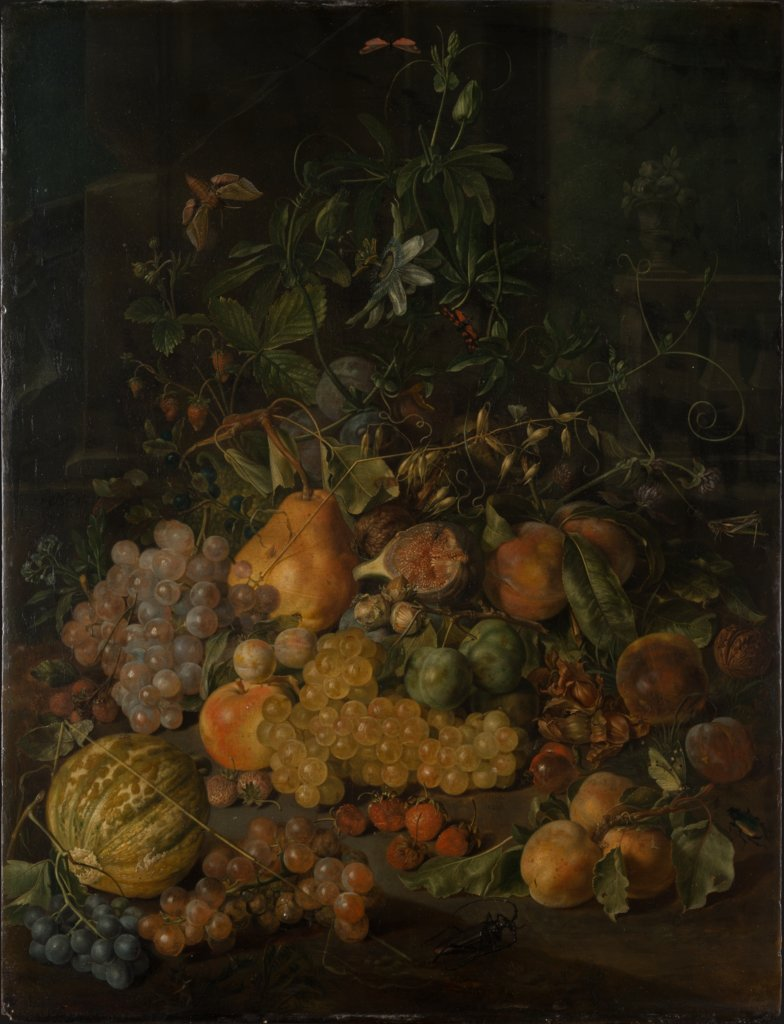 Still Life with Fruits, Johann Daniel Bager