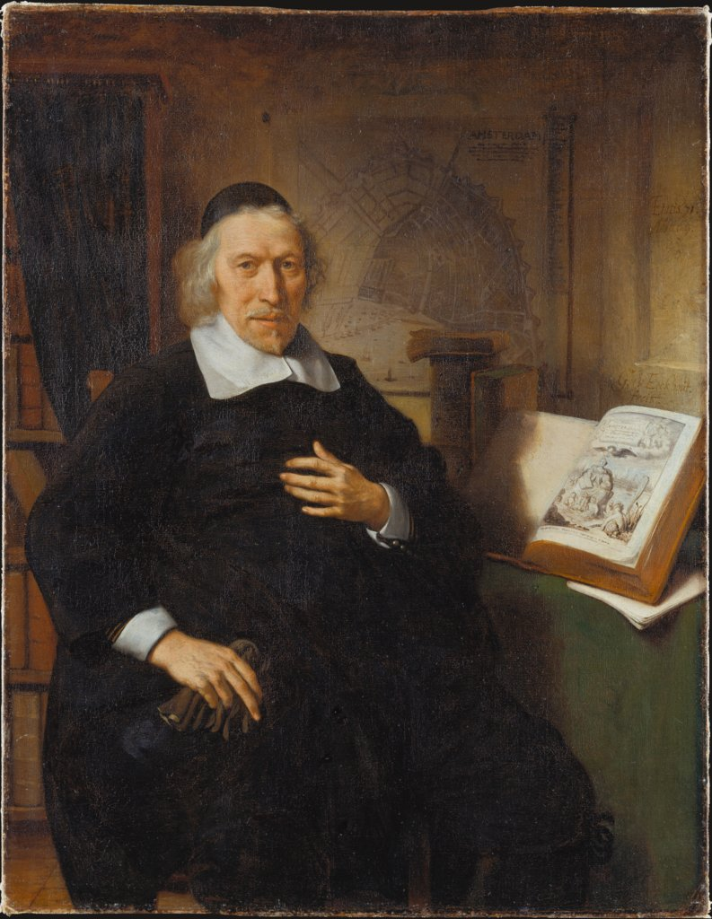 Portrait of Isaac Commelin, Gerbrand van den Eeckhout