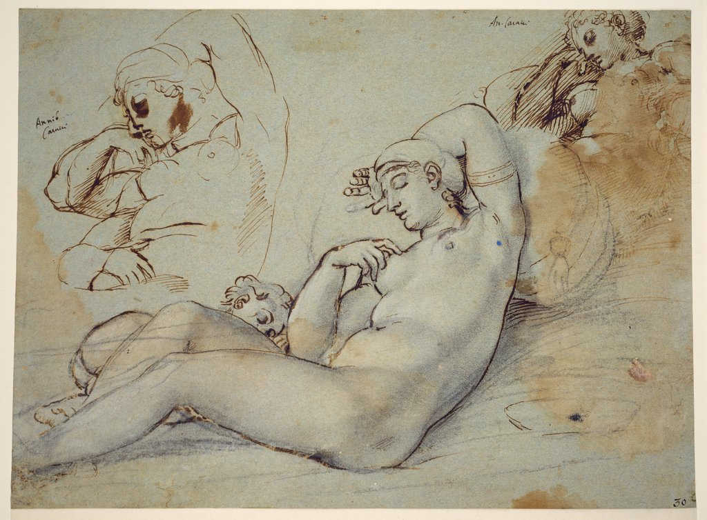 Study of Venus at Rest, Annibale Carracci