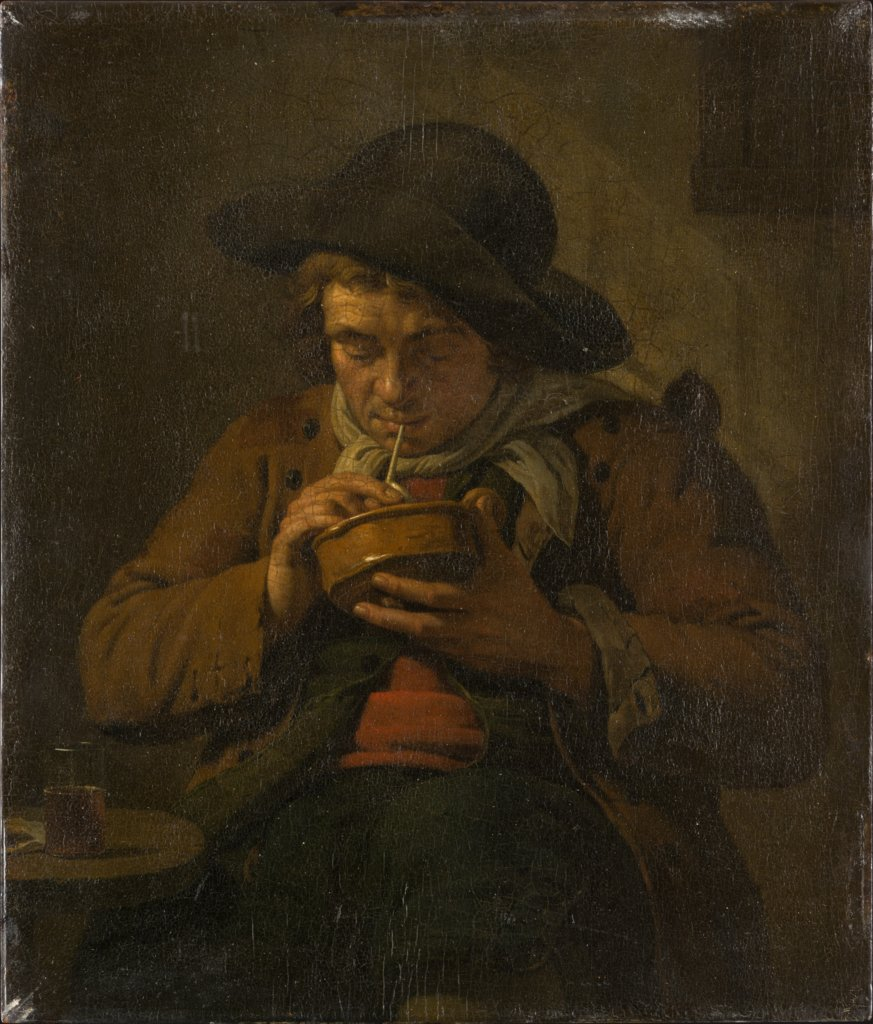 Peasant Lighting his Pipe, Jan Ekels the Younger
