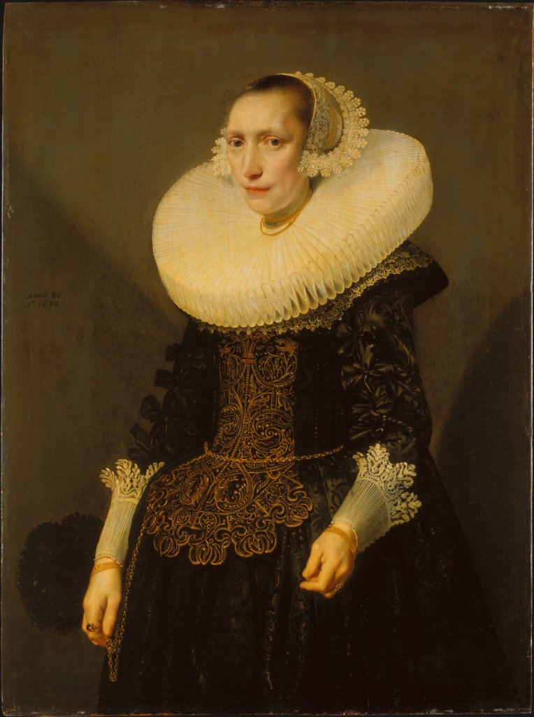 Portrait of a Lady, Michiel van Miereveld   ?, Jan Daemen Cool  circle ?