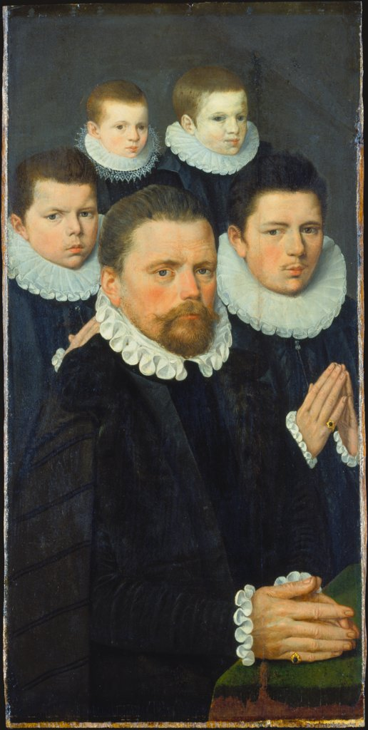 Shutter of an Altarpiece with Male Donors, Flemish Master around 1570/1580