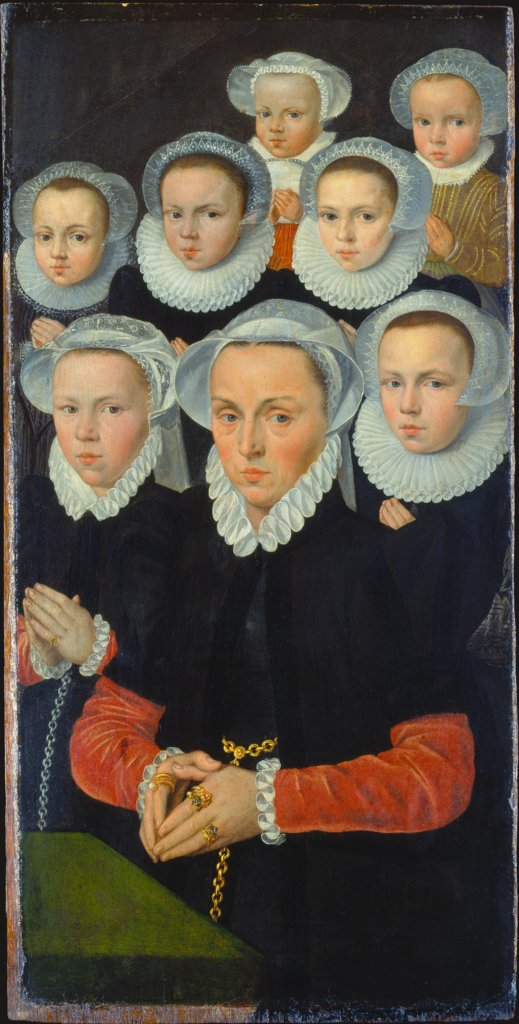 Shutter of an Altarpiece with Female Donors, Flemish Master around 1570/1580