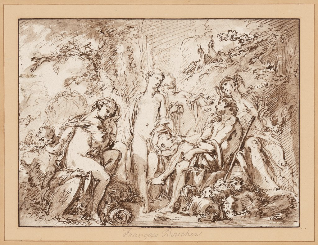 The Judgment of Paris, François Boucher
