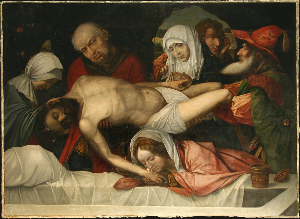 Deposition of Christ, Dutch Master around 1525