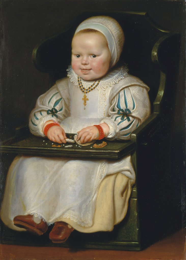 Portrait of Susanne de Vos, the Painter's Third Daughter, Cornelis de Vos