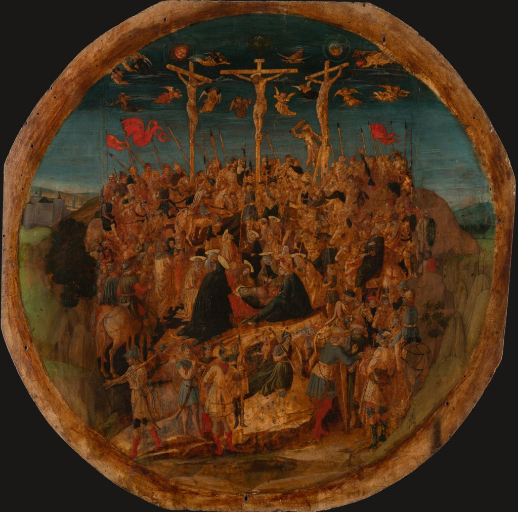 The Crucifixion, Florentine School second half of the 15th century