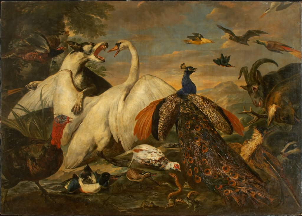 Fighting Animals as Allegory of the Combat between Virtue and Vice, Pieter Boel