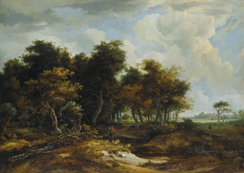 Entrance to a Forest, Meindert Hobbema