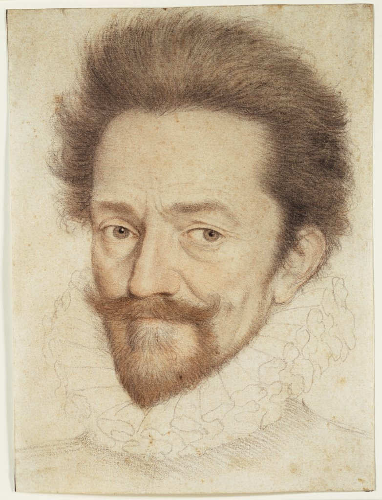 Portrait of a Bearded Man Wearing a Ruff, François Quesnel   ?, Antoine Caron   ?