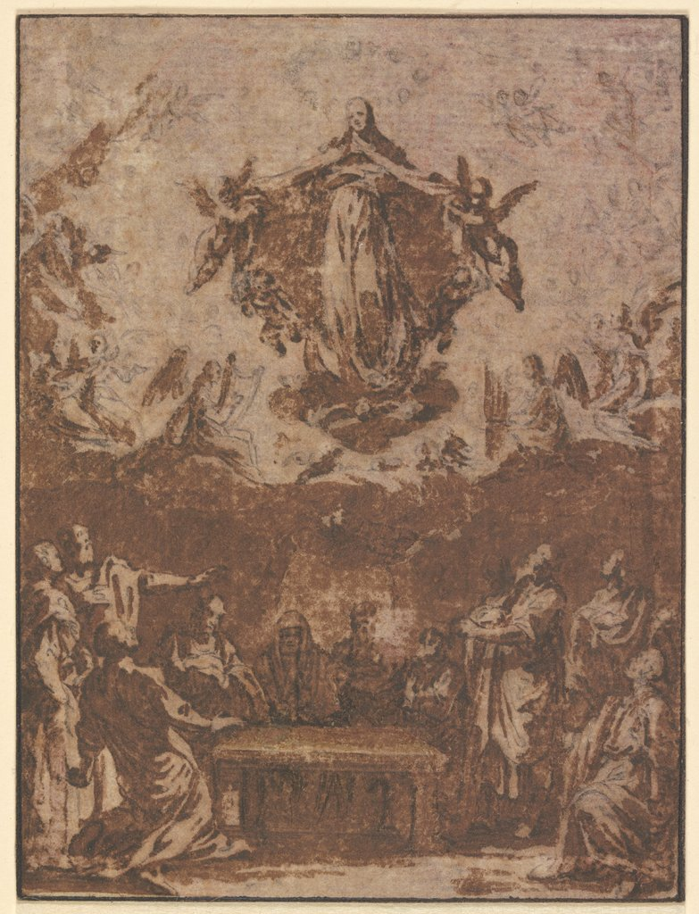 Assumption of Mary, Jacques Callot