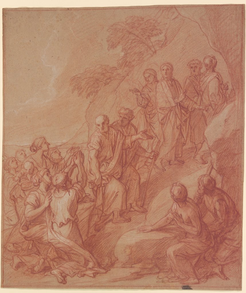 Appointing of the apostles, François Verdier