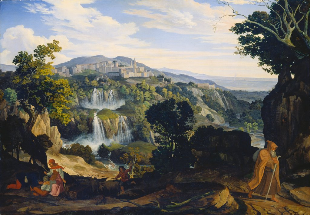The Waterfalls of Tivoli, Carl Philipp Fohr