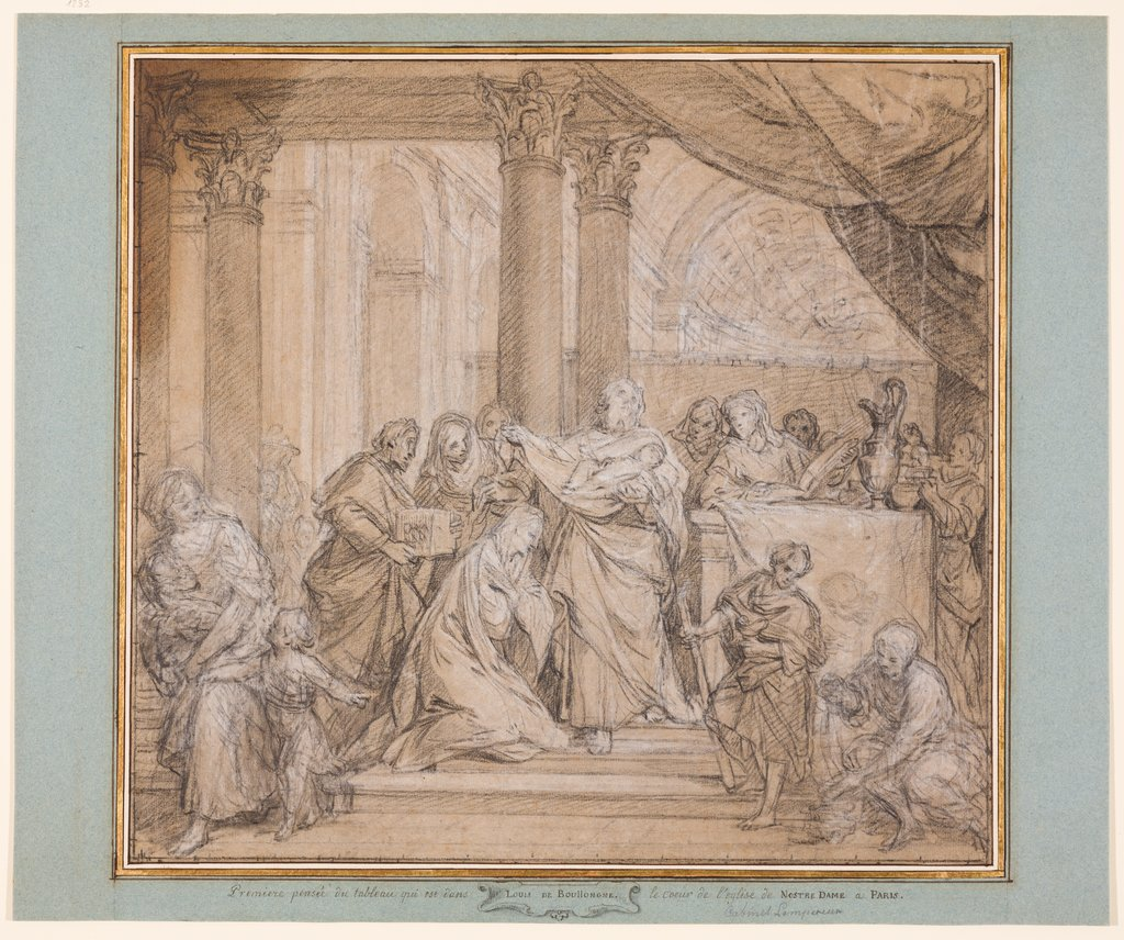 Presentation at the Temple, Louis de Boullogne the Younger