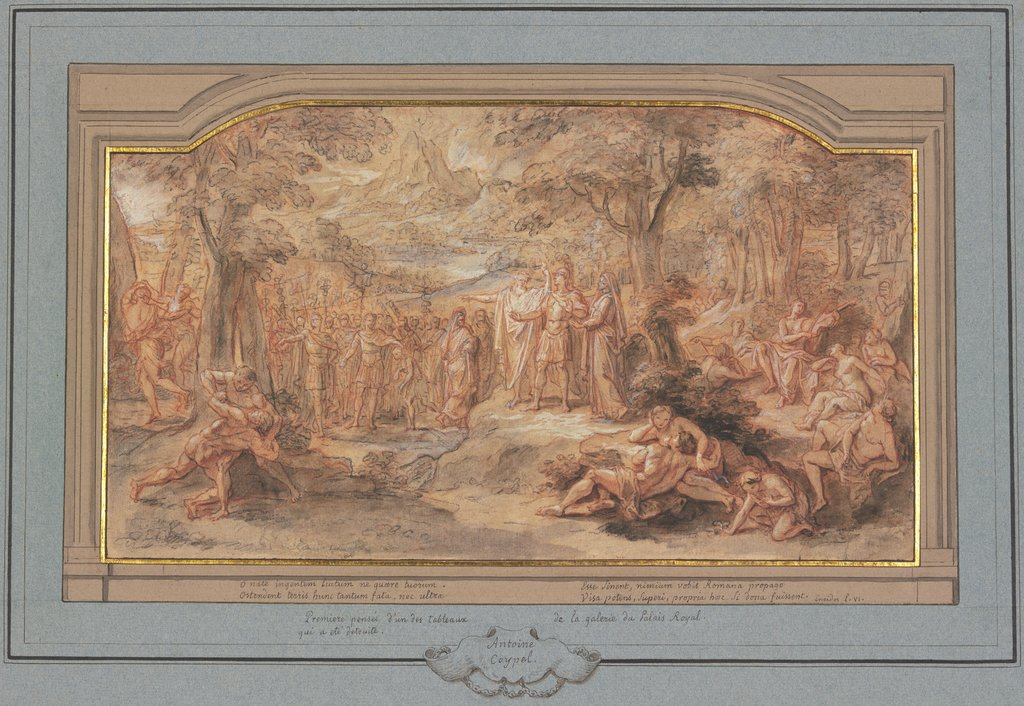 Aeneas in the underworld, Antoine Coypel