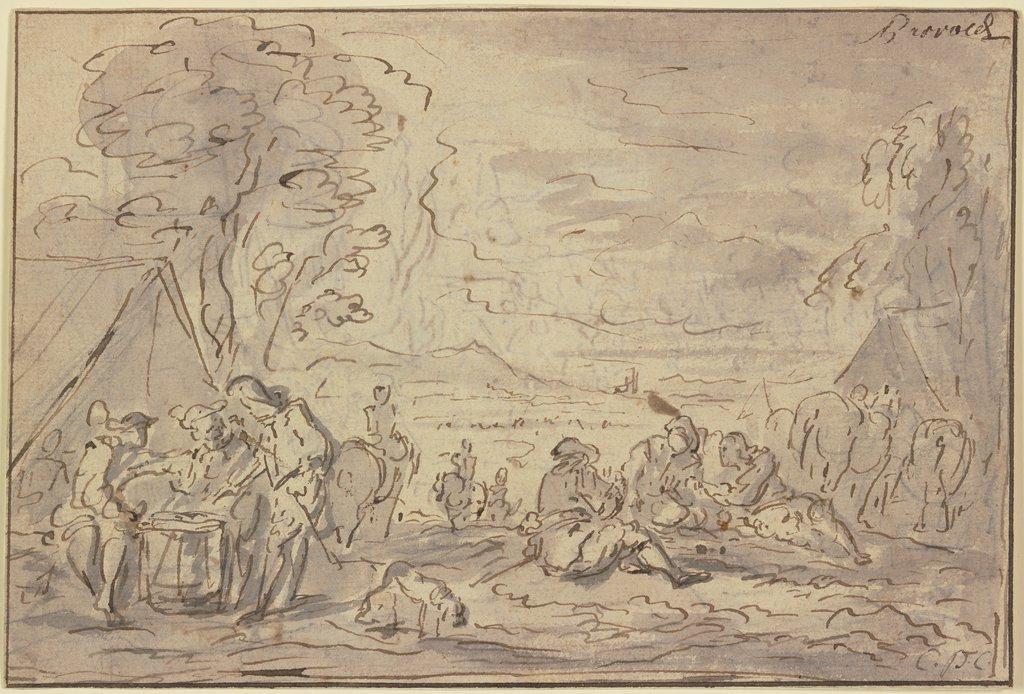 La vie interne au corps dans les armées de Louis XV Soldatenlager-1323z--thumb-xl
