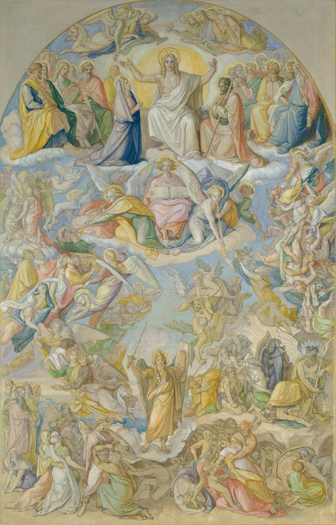 Last Judgement, Peter von Cornelius