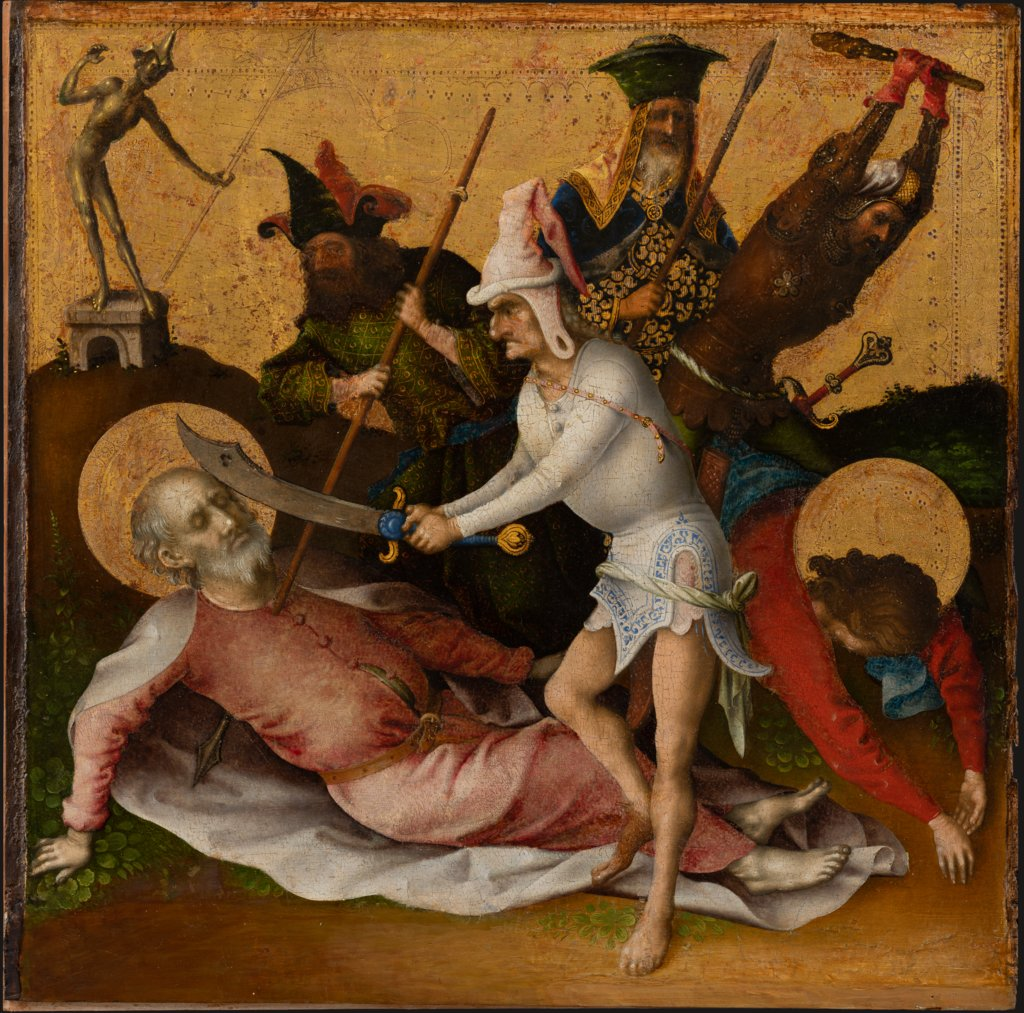 Martyrdom of Ss Simon and Judas, Stefan Lochner