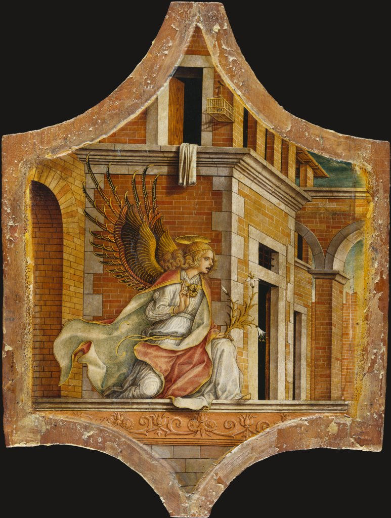 The Angel of the Annunciation, Carlo Crivelli