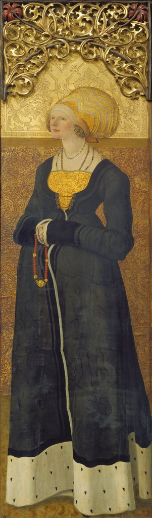 Portrait of Margarete Stalburg, née vom Rhein (1484–1550), Master of the Stalburg Portraits
