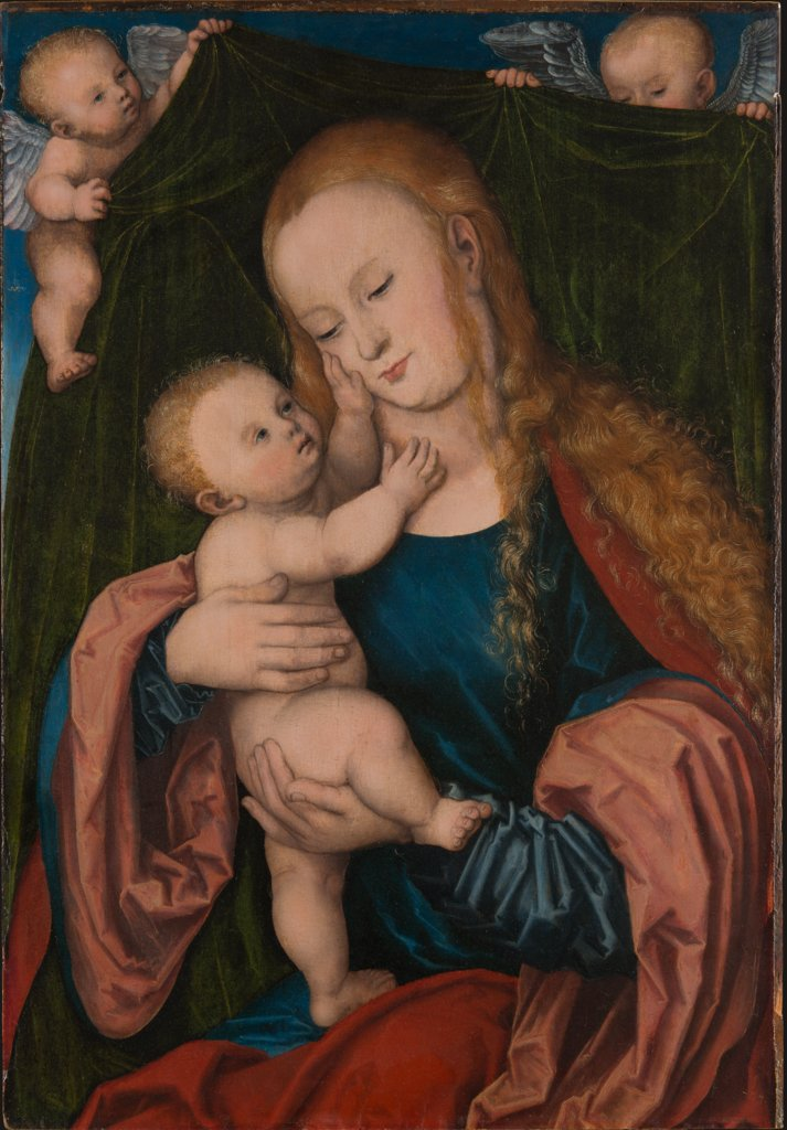 Virgin and Child, Lucas Cranach the Elder