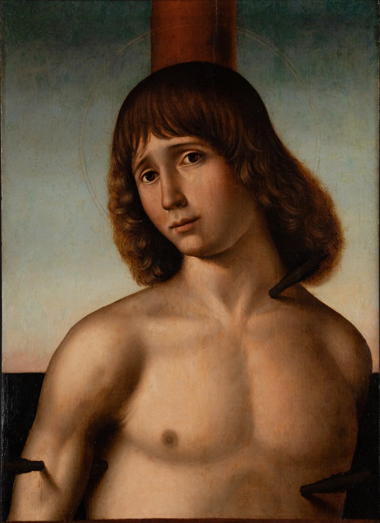 St. Sebastian at the Column, Antonio de Saliba
