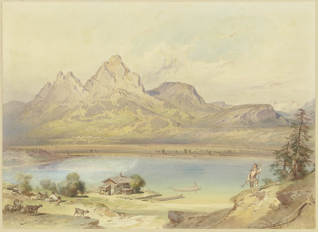 At the Lake Lucerne, Leopold Rottmann