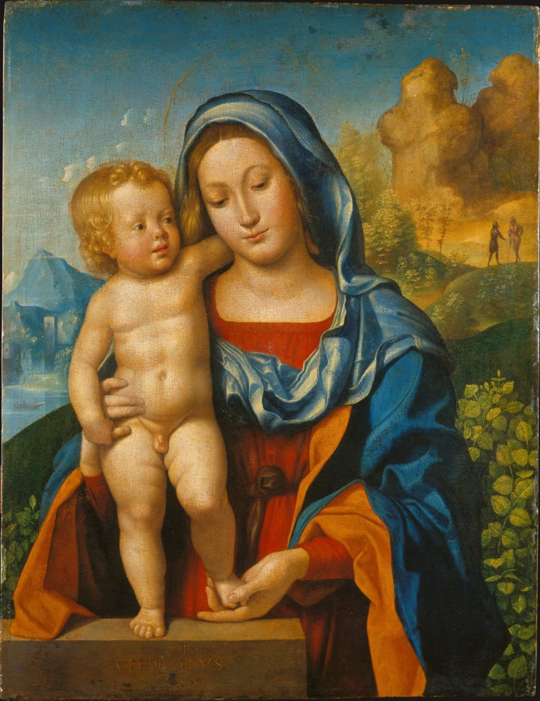 Madonna mit Kind, Giovanni Francesco Caroto