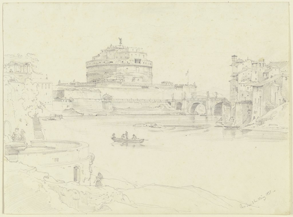 Castel Sant'Angelo in Rome, Ernst Fries